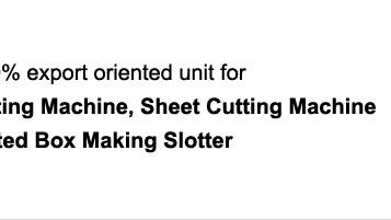 Flexo Printing Machine, Flexo Longway Board Printer, Board Printer